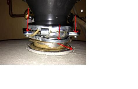 garbage disposal flange removal disposal leaking from flange but unsure how to