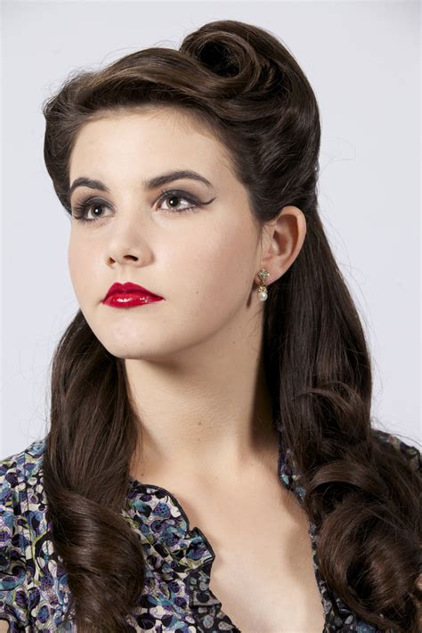 Vintage Hairstyles by Hair Makeup By Riester Vintage 1950s And Hair