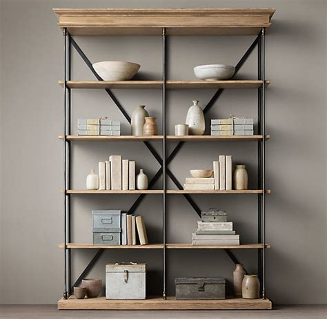 Bookcase Shelf Hardware by Restoration Hardware Books Archives The Honeycomb Home