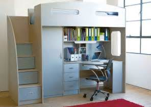 Bunk Bed With Wardrobe Odyssey Space Saver Bunk Bed Steps Instead Of Ladders Which Are Also Drawers Desk Shelves