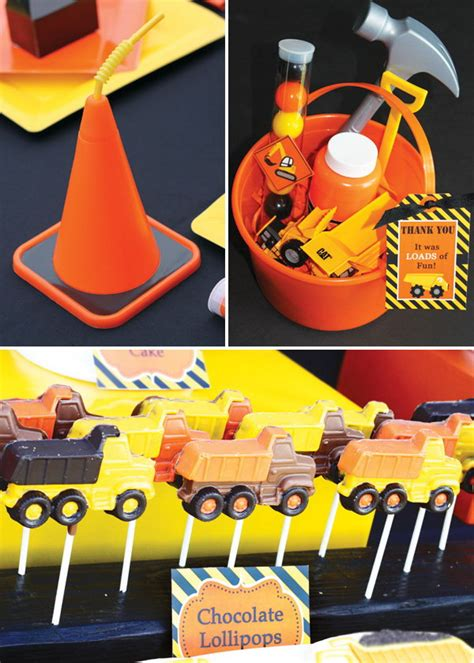 construction themed birthday supplies 40 construction themed birthday party ideas hative