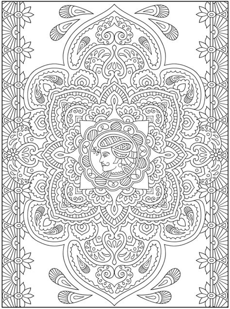 free coloring pages of henna vine creative haven mehndi designs coloring book traditional