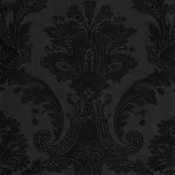 black damask wallpaper home decor plain black wallpaper fav colors pinterest plain