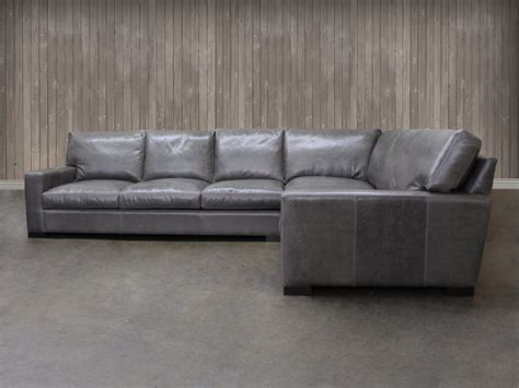 braxton sectional sofa braxton leather quot l quot sectional sofa leather sectional
