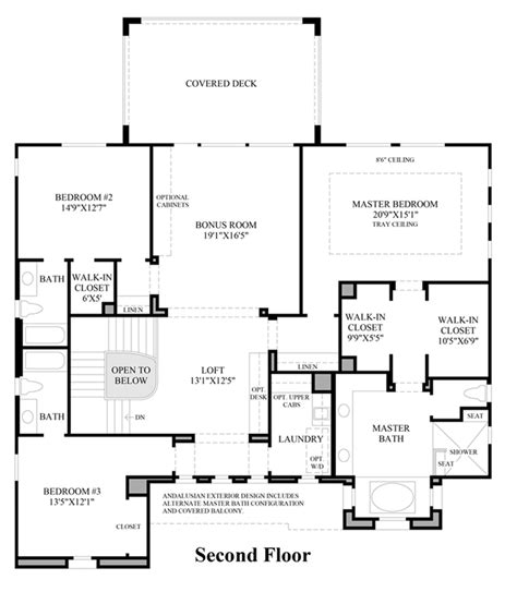 home design brescia 2nd floor floor plan
