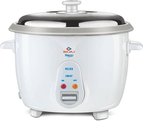 Sanken 6 In 1 Rice Cooker 1 Liter Sj 130 New Arrival Murah bajaj majesty new rcx 5 electric rice cooker price in india buy bajaj majesty new rcx 5