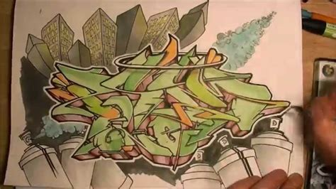 wildstyle graffiti speed drawing commente graff sur