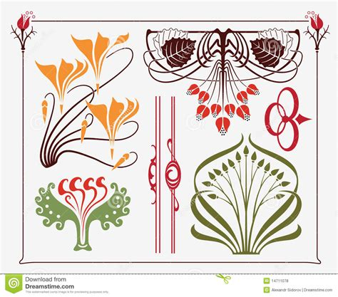 art design art nouveau design royalty free stock photos image 14711078