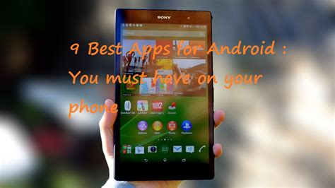 10 android apps you must on your android phone best apps for android you must on your phone droidopinions