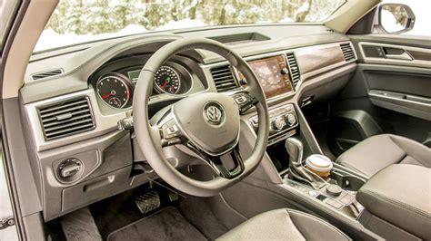 atlas volkswagen interior 2018 volkswagen atlas first drive american style family