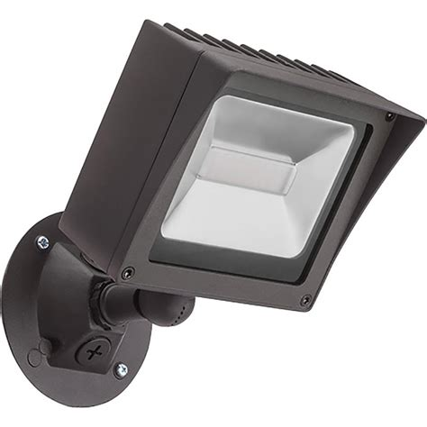 lithonia led flood light lithonia lighting bronze outdoor integrated led wall mount