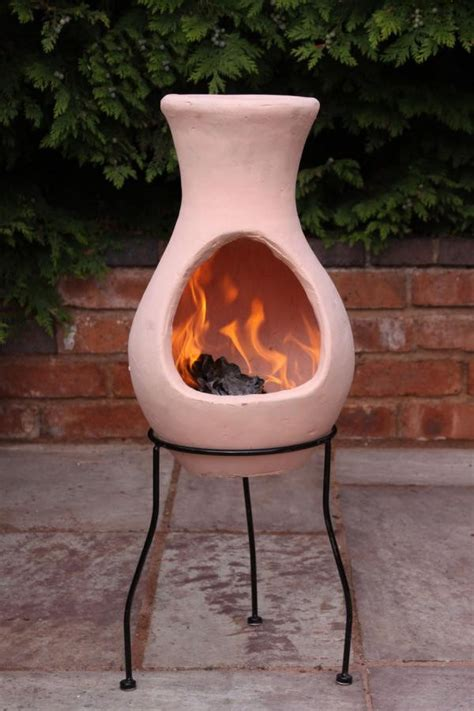 Terracotta Chiminea Pit Terracotta Clay Chimenea Chiminea Patio Heater Pit