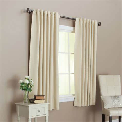 best curtain rod for blackout curtains best home fashion thermal insulated blackout curtains