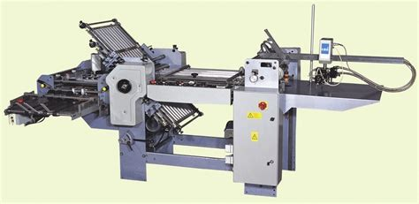Second Paper Folding Machine - china paper folding machine 520t 4 combs 1 knife