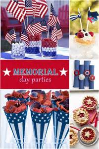 fabulous party ideas for memorial day pizzazzerie