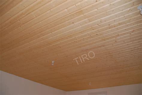 Plafond En Bois Brut by 1 Plafond Clins Sapin Brut De Sciage Maisons Ossature