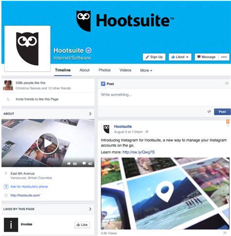 fb hoot looks matter branding across social media getresponse blog