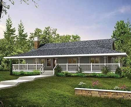 ranch style house plans wrap around porch archives new