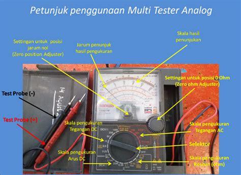 Berapa Multitester cara menggunakan multi tester analog yang benar tempat