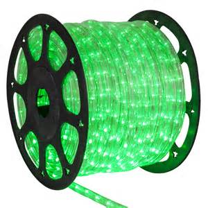 Led rope lights 150 true green chasing led rope light commercial