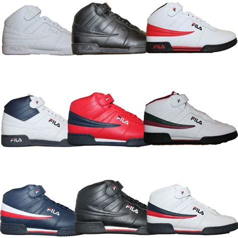 high top sneakers for mens fila f13 f 13 classic mid high top basketball shoes