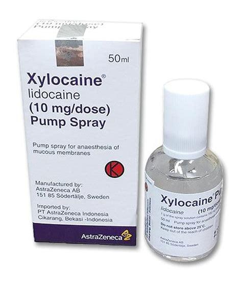 Lidocaine Shelf by Xylocaine Spray Dosage Information Mims Indonesia