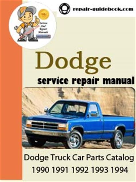 car repair manuals online pdf 1993 dodge stealth electronic valve timing 1990 1994 dodge truck car parts catalog servcie repair pdf manual 1990 1991 1992 1993 1994 pdf