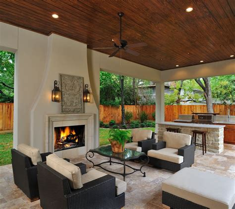 outdoor living room with fireplace how to design your perfect outdoor kitchen outdoor
