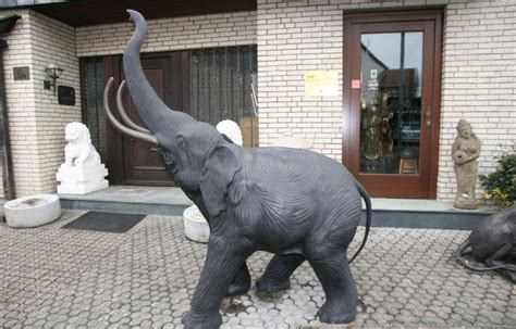 asiatische tische 993 elefant aus bronze zu kaufen auf asian garden de