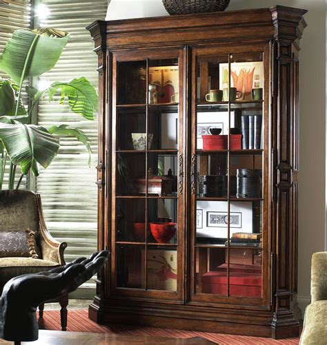 what to display in glass kitchen cabinets viniterra traditional display cabinet with glass doors by