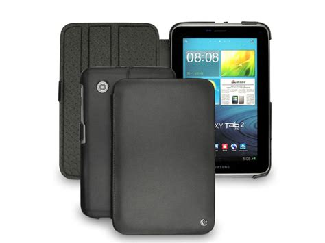 Smart Leather For Samsung Galaxy Tab 70 P3100 P6200 1 noreve tropez tradition samsung galaxy tab 2 7 0