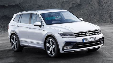 American Home Interior by Stretched Volkswagen Tiguan Allspace Coming To Detroit