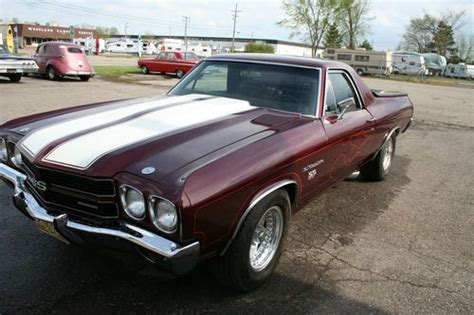 1970 chevrolet el camino ss 454 buy used 1970 chevrolet el camino 454 ss in westland