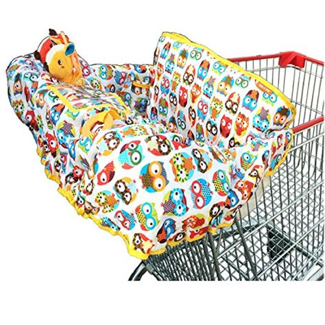 Handmade Shopping Cart Covers - new fashionable grocery and shopping cart cotton cover for