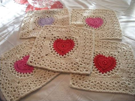pattern for heart granny square 663 best granny squares african flowers images on