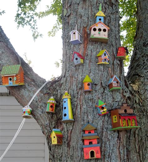 colorful bird houses still waters notes from a virginia shire colorful bird