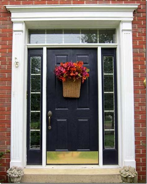 front door ideas how to easily decorate your front door for fall in my