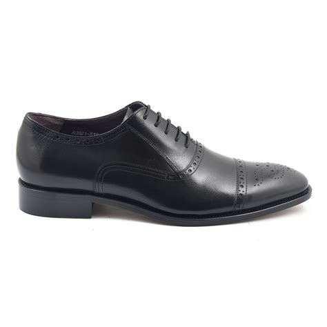 black oxford shoes buy black oxford brogues for gucinari shoes