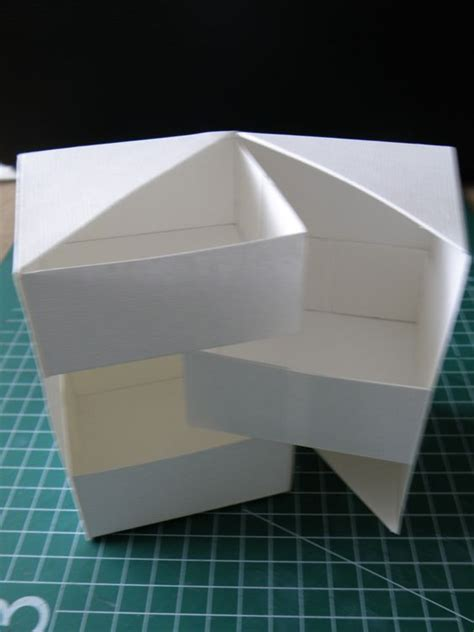 Origami Secret - origami boxes and scrap on