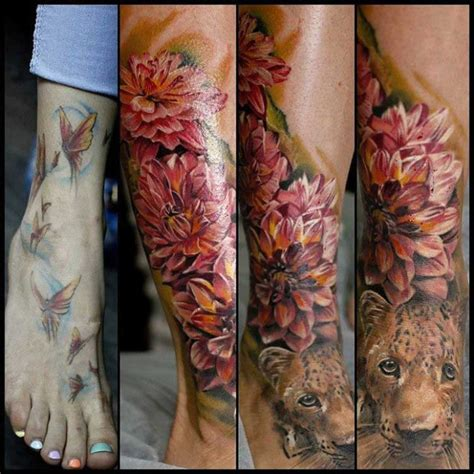 ankle cover up tattoos cover up on foot best ideas gallery