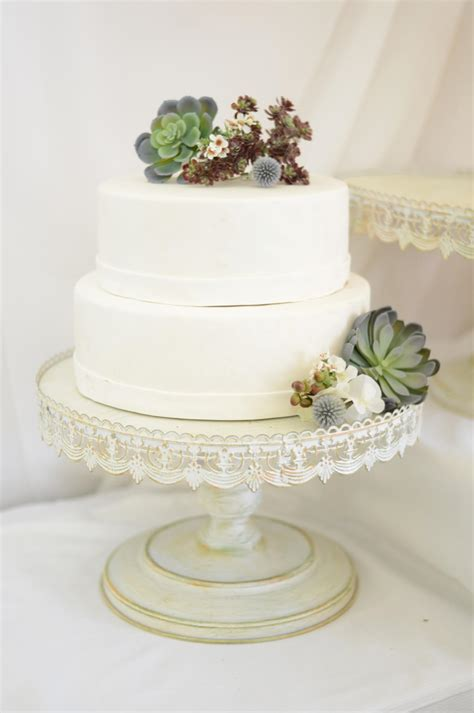 Wedding Cakes Stands by Vintage Metal Cake Stand White 16in