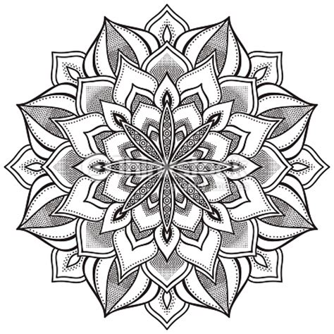 cupid s view coloring book for everyone books mandala vector thinkstock