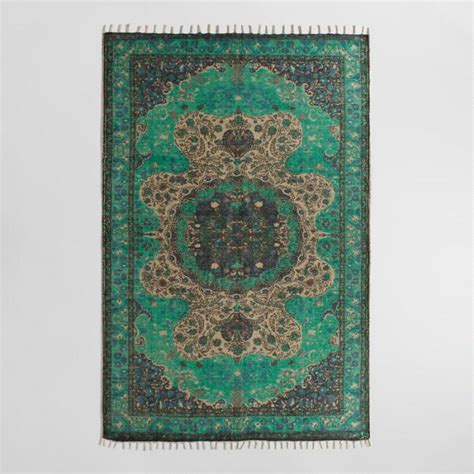 5x8 jute rug 5x8 teal jute soha area rug world market
