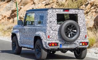 Suzuki Jimny News 2018 Suzuki Jimny To Make Its Debut Next Month At