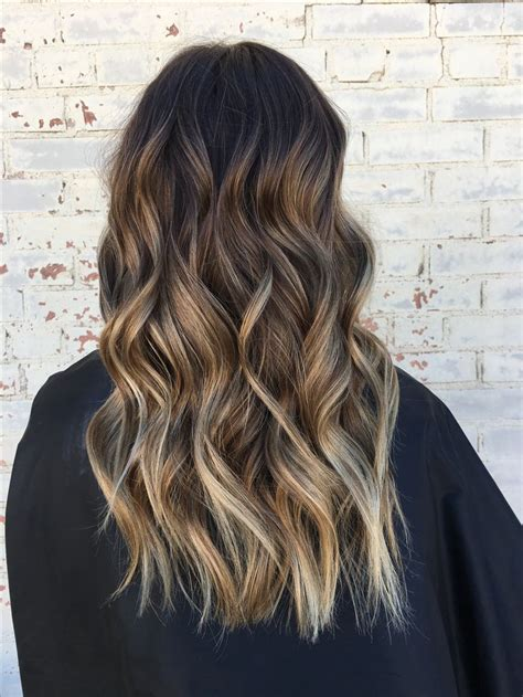 blonde highlights on brown hair 63 best hair by allison images on pinterest loose waves