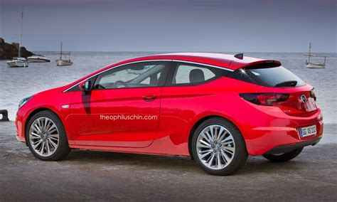 opel astra gtc 2015 2015 opel astra k imagined in sportier three door gtc