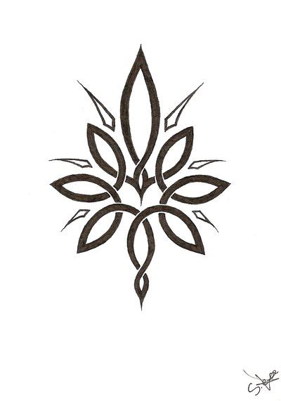 celtic flower tattoo designs flower black designs studio design gallery