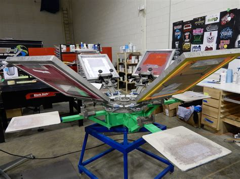 4 color press 6 color 4 station manual press with joystick
