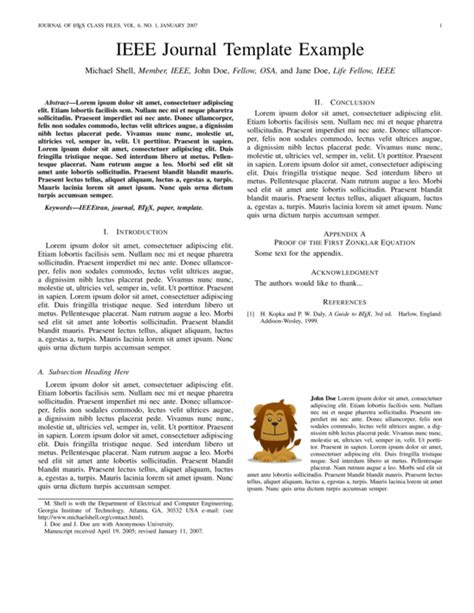 ieee journal latex template sharelatex online latex