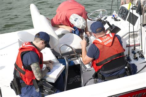 Coast Guard Background Check Dvids Images Coast Guard Crew Conducts Safety Checks Labor Day Weekend Image 4 Of 6